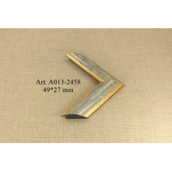 Oval Mirror 8335AG 4*5