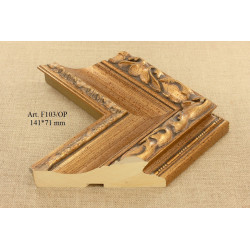 Craft Paper Canford FROSTED GOLD C071