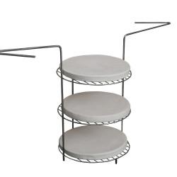 Aluminum photo frame silver 21*30 cm
