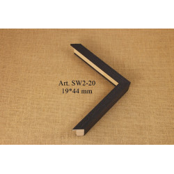 Pop all black 5x700x1000mm PAB50