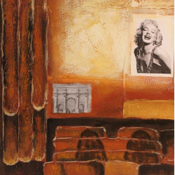 Framed mirror V1539-G388