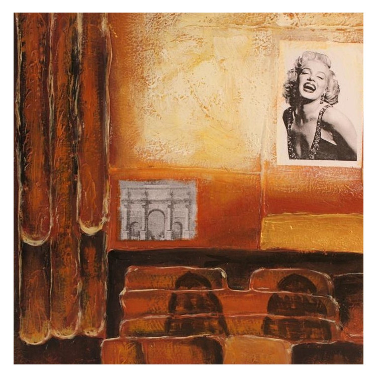 Framed mirror V1539-G388